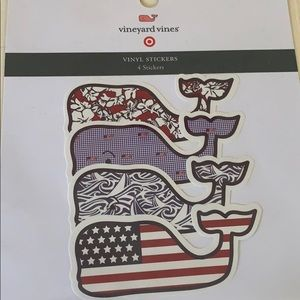 New & Sealed. Small Target Vineyard Vines Stickers